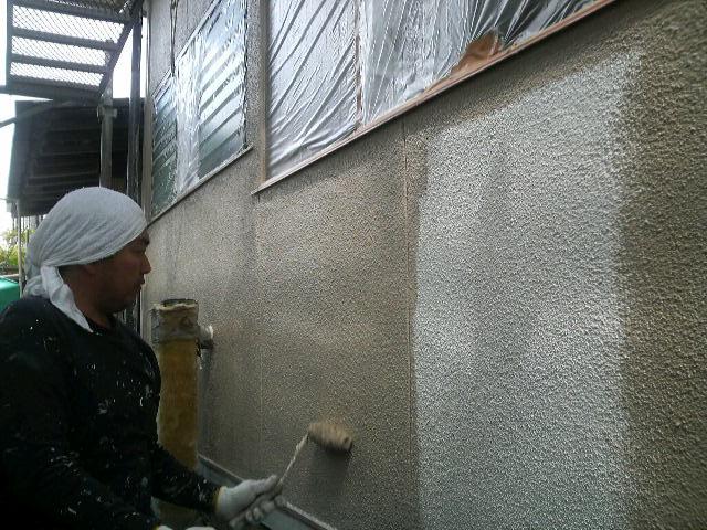 0424 外壁上塗り