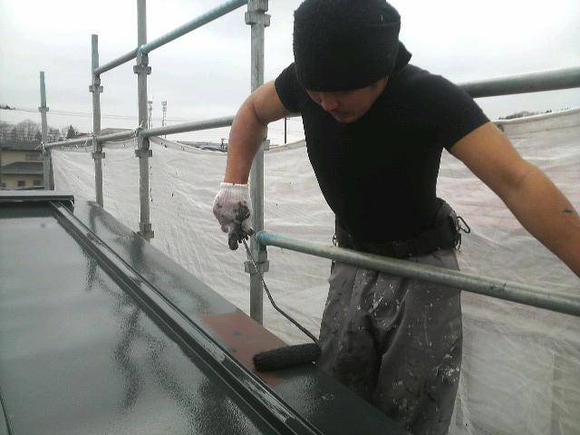 0425 屋根塗装