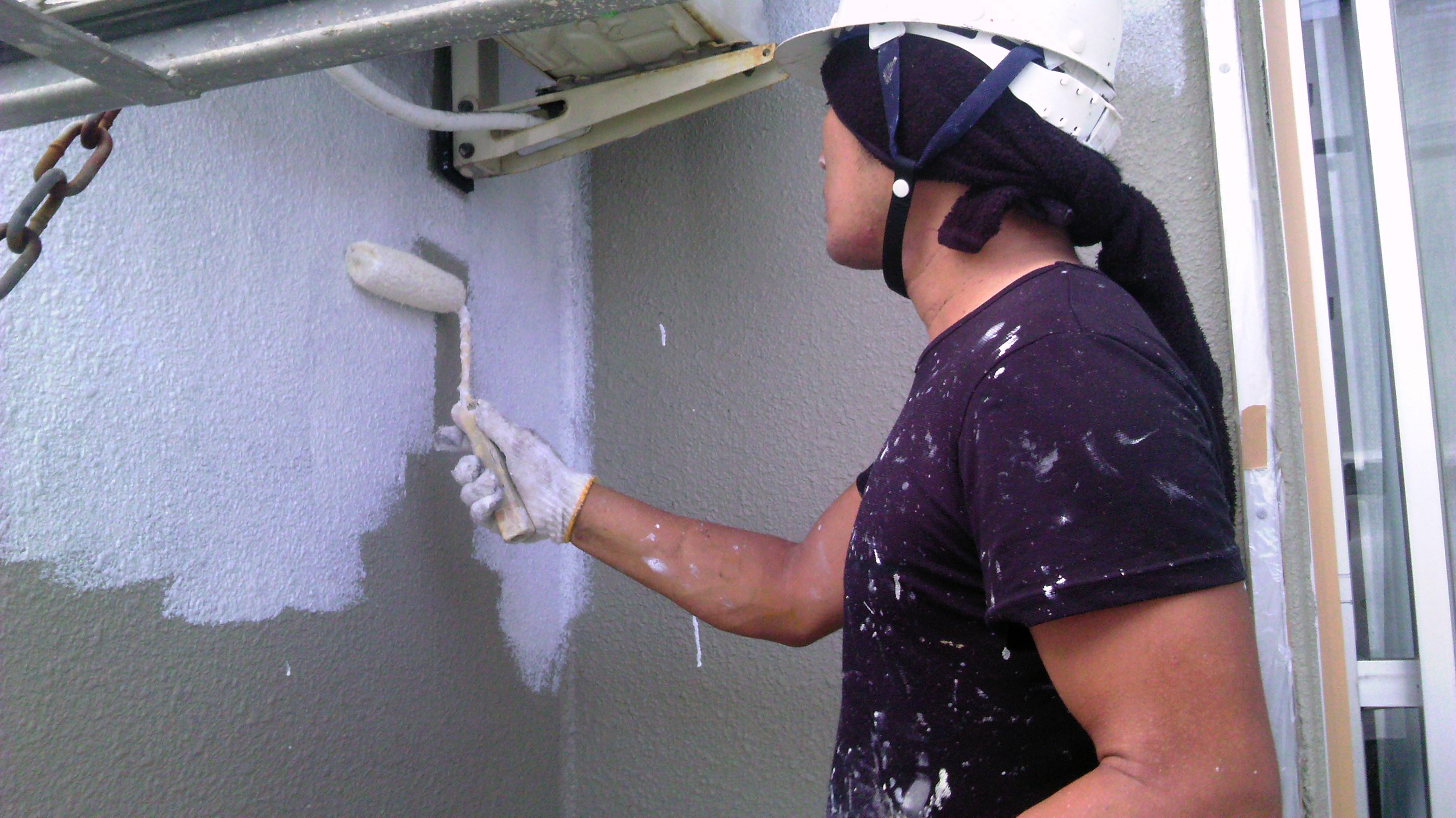 0731 外壁下塗り