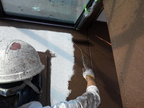 120929-一階壁中塗り
