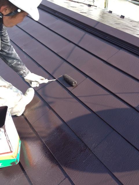 120930-屋根上塗り