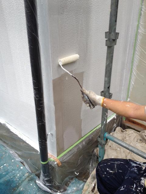130731外壁下塗り